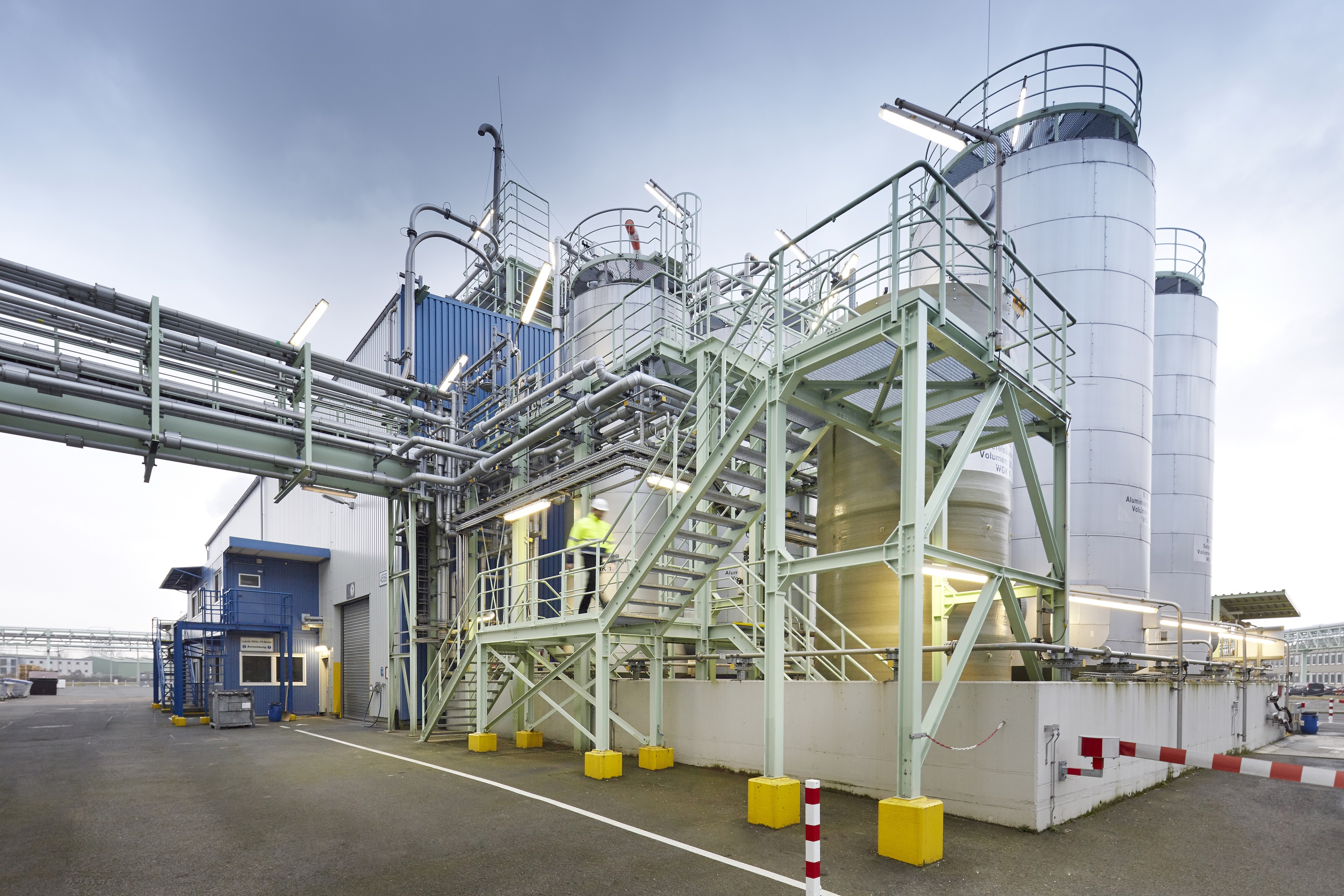 Clariant achieves 100% green electricity consumption at Knapsack production site