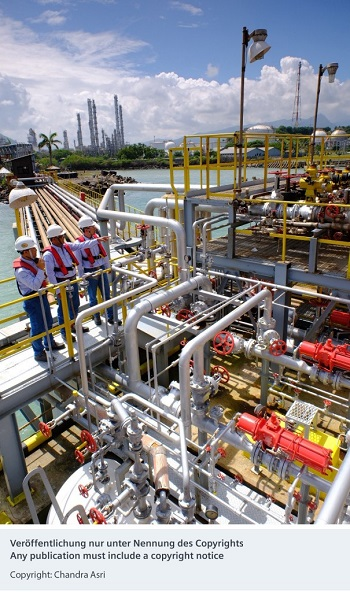 Siemens and Bentley Systems to build digital twin for a petchem complex in Indonesia