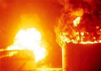 Fire reported at ONGC's gas terminal in Hazira, no casualties