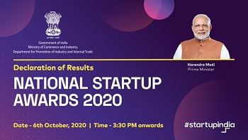 Winners for National Startup Awards 2020 announced