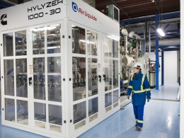 Air Liquide inaugurates the world's largest PEM electrolyzer unit in Canada