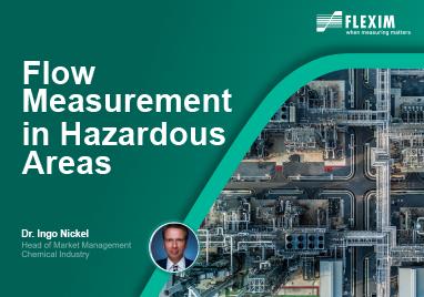Flexim's Presentation on 'Flow Measurement in Hazardous Areas'