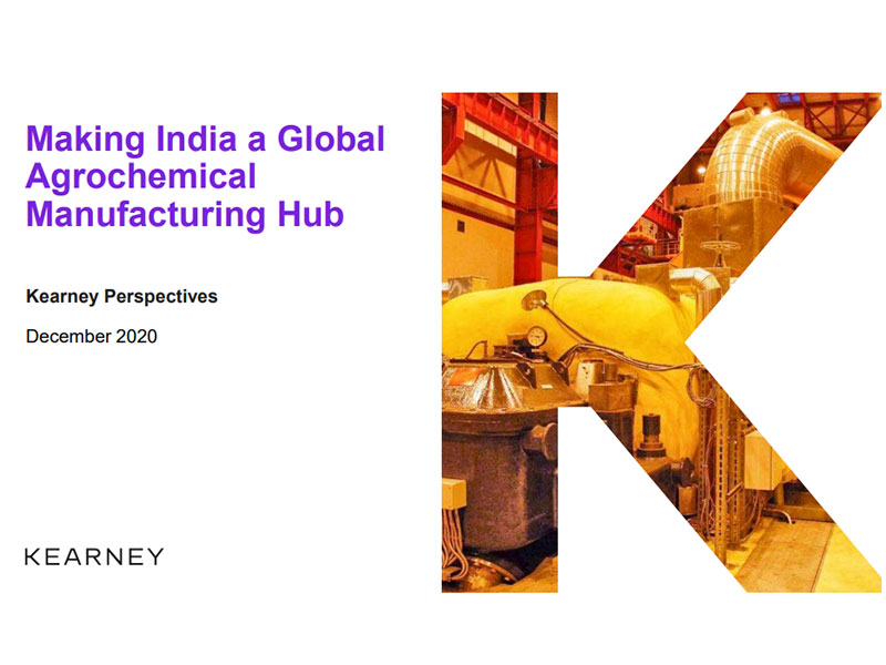 Kearney's presentation on 'Making India a Global Agrochemical Manufacturing Hub'