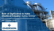 Emerson Automation Solutions presents Role of Digitization to make Chemical Industry Aatma Nirbhar