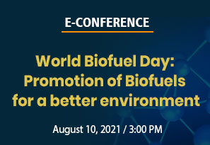 World Biofuel Day: Promotion of Biofuels for a better environment